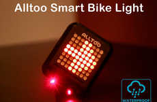 Laser Bike Light Indicators