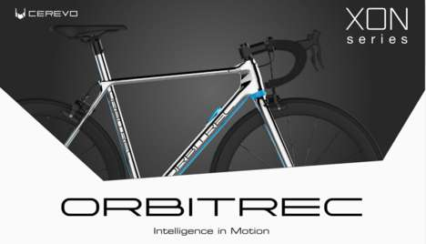 Cloud-Connected Smart Bikes - The ORBITREC is a 3D-Printed Bike Equipped with Smart Technology