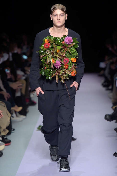 Garden-Themed Menswear Collections - This Tokyo New Age Presentation Spotlights Multiple Designers