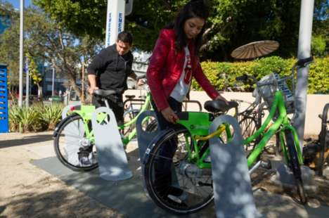 Smart Bike Sharing Services - The Breeze Bike Share Program is Supported By the City of Santa Monica