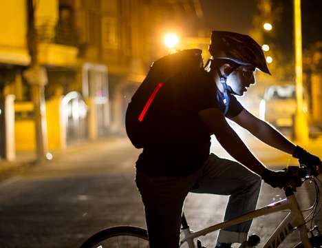 25 Smart Cycling Precautions - From Laser Bike Light Indicators to Traffic-Sensing Cycling Devices