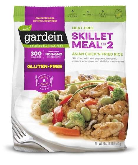 Frozen Vegan Dinners - Gardein's 'Skillet Meal for 2' Makes Quick and Easy Meatless Meals