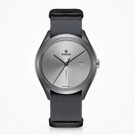 Ultra Lightweight Watches - The Rado Hyperchrome Timepiece is Designed to Have a Barely There Wear