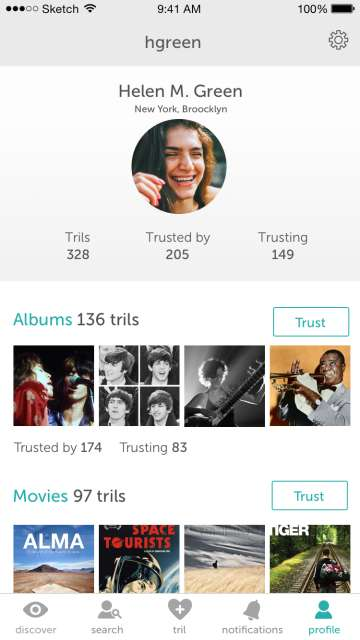 Trust-Based Recommendation Apps - The Tril App Offers Food Suggestions Based on Real Endorsements