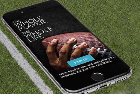 Football Player Health Apps - The TeamStudy App Monitors the Cognitive Health of Former NFL Players