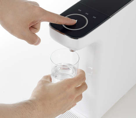Compact Drinking Water Purifiers - The Magic 'Slim Sculpture' Purifier Features a Tankless Design