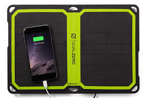 The Goal Zero 'Nomad 7 Plus' Mobile Solar Panel Offers Convenience