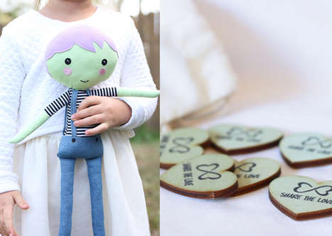 Inspiring Generosity Dolls - The Doll Kind's Huggable Toys Inspire Kids to Give Back
