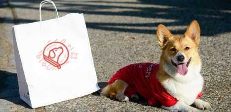 Dog-Powered Delivery Services - The New DoggyDash Service Uses Dogs to Deliver Packages