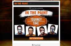 Sporty Face-Painting Apps - FaceCake's 'In the Paint' Helps Sports Fans Virtually Apply Face Paint