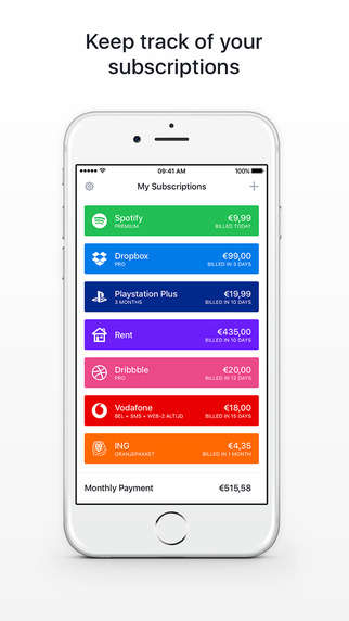 Bill-Organizing Apps - The 'Billy' App Helps Users Manage Subscriptions and Upcoming Bills