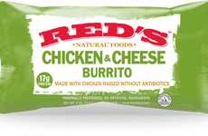 Wholesome Natural Burritos - Red's Frozen Burritos Exclude GMOs, Preservatives and Antibiotics