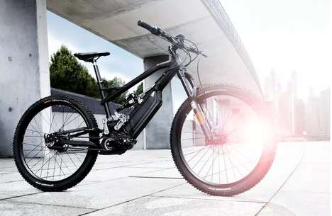 Electric Mountain Bikes - HNF Heisenberg's F1 Model is Developed in Partnership With BMW