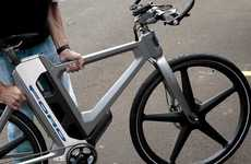 Foldable E-Bike Concepts - Ford's MoDe:Flex eBike Demonstrates Smart Mobility