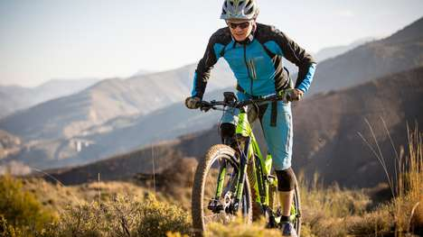Powerful Off-Road Ebikes - The Trek 'Powerfly FS+' Off-Road Bicycle is Design for Uneven Terrain