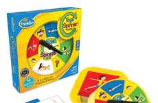 Kid-Friendly Yoga Games - Thinkfun's 'Yoga Spinner Game' for Kids Teaches Flexibility and Balance