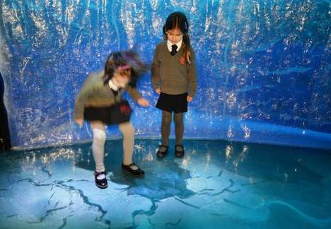 Simulated Aquarium Exhibits - The Newest Sea Life London Aquarium Attraction is Driven by AR
