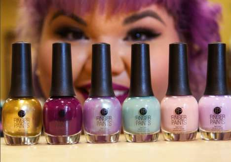 Quirky Nail Polish Collections - This Designer Teamed Up with FingerPaints for a New Collection