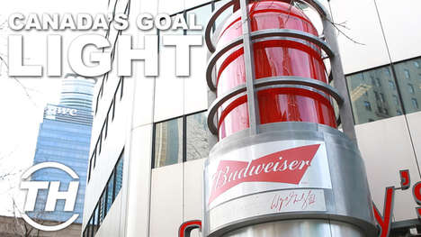 Illuminating Hockey Campaigns - Andrew Oosterhuis Gives an Insider Look at the Budweiser Red Light