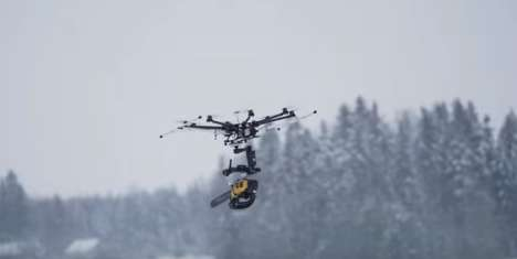 Chainsaw-Armed Drones - The Killer Drone is Equipped With a Remote-Controlled Chainsaw