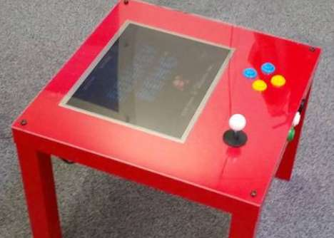 Educational Game Tables - This Arcade Game Table Uses Raspberry Pi Technology