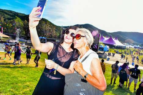 Cross-Generational Festival Experiences - Lily di Costanzo Brings Her Grandmother to an EDM Festival