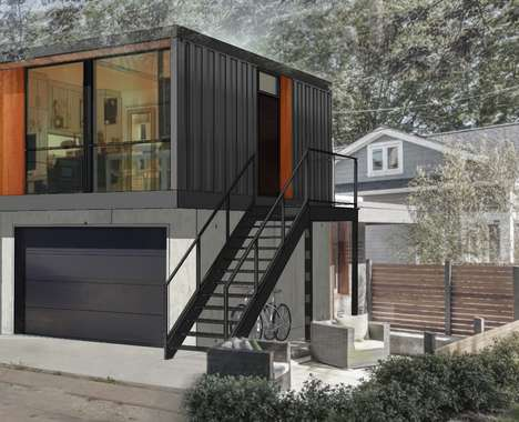 Chic Shipping Container Homes