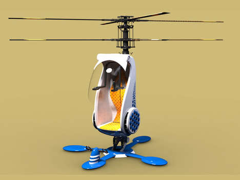 Economical Single-Seat Helicopters - This Personal Helicopter Design Allows Flyers to Avoid Delays
