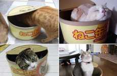 Tuna Can Cat Houses