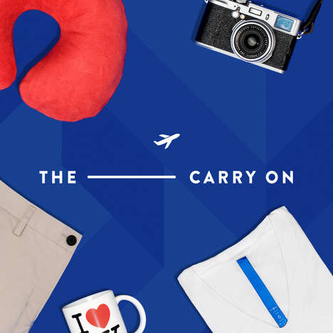 Luxury Travel Pop-Ups - 'The Carry-On' is Pop-Up Series from High-End Retailer Kit and Ace