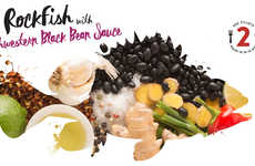Sauce-Paired Fish Meals - LoveTheWild Offers Frozen Fish With Sauces and Cooking Instructions