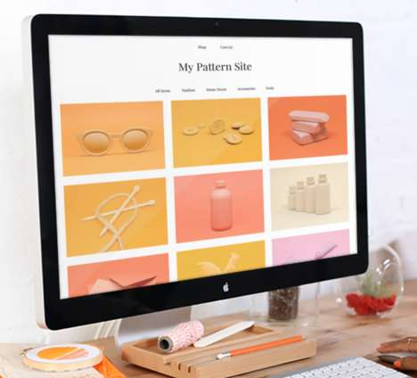 Marketplace Website Builders - The Etsy Pattern Platform Helps Sellers Create Their Own Site