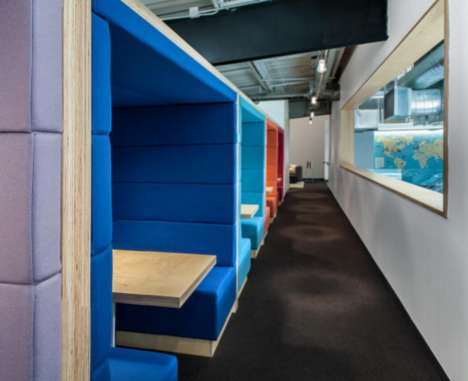 Meditation-Focused Offices - The Headspace Headquarters is Mindful of Employees Overall Well-Being
