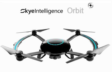 Video-Sharing Drones - The Skye Intelligence Technology 'Orbit' Drone Follows Users Seamlessly