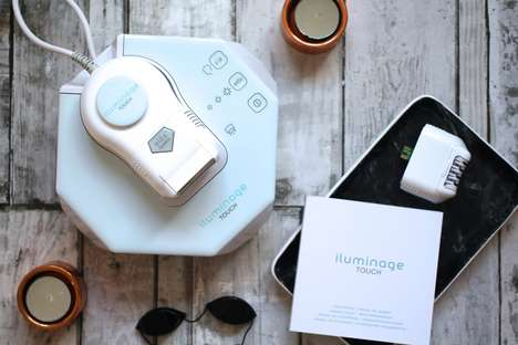 Scientific At-Home Laser Treatments - The IluminageTOUCH is a Permanent Laser Hair Removal Device