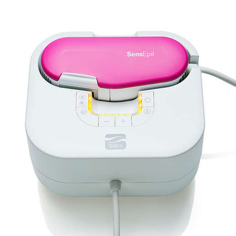 Portable At-Home Hair Removers - The Silk'n SensEpil Device Provides Professional Results at Home