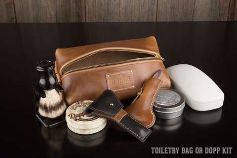 Unisex Dopp Kits - The Travellr Razor Case and Travel Bag Can be Used by Guys or Gals