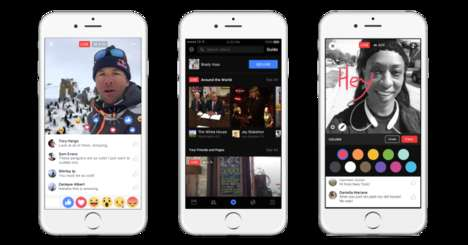Social Media Video Hubs - Facebook Video Takes on YouTube Through Live and Recorded Features