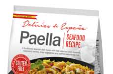 Festive Frozen Paella - This Seafood Paella Can Be Prepared In 20 Minutes