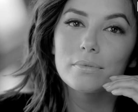 Hispanic Actress Cosmetic Ads