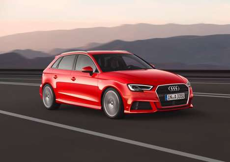 Updated Mid-Sized Cars - The New Audi A3 Features an Improved Engine and Safety Upgrades