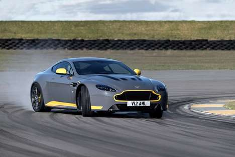 Purist British Cars - This Brand New Aston Martin Features a Three-Pedal Control Setup