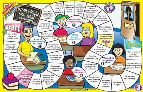 Social Skill-Developing Games - The 'Say and Do' Social Skills Game Gets Kids Ready to Interact