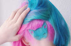 Vibrant Cat Hairstyles