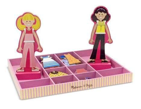 Two-Player Dress-Up Toys - The Melissa & Doug 'Abby & Emma' Dress-Up Set Provides Hours of Play