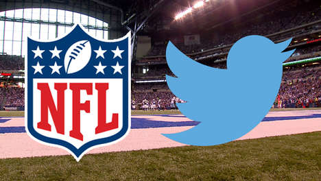 Social Sports Livestreams - NFL Fans Can Now Livestream Thursday Night Football on Twitter