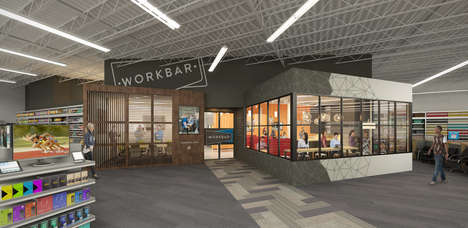 In-Store Co-Working Stations - Staples is Introducing Office Sharing Within Its Retail Locations