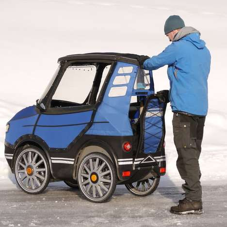 Pedal-Powered Cars - The PodRide Lets You Get Around Easily In Different Environments