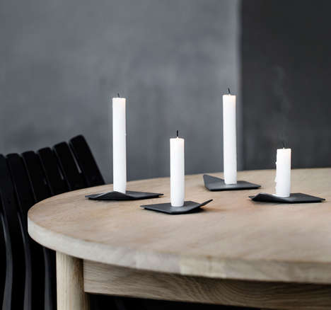 Arctic-Inspired Candleholders - Drift by Nestor Campos is Modeled After Ice Floating in the Sea