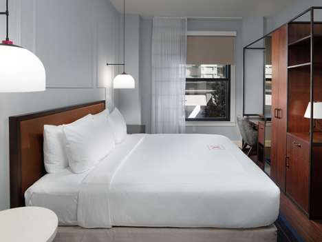 Contemporary Bayside Hotels - The Axiom Hotel San Francisco Boasts an Elegant Modern Decor